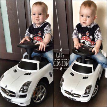 Толокар Bentley красный (музыка, гудок, бардачок)