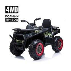 Электроквадроцикл XMX607 Т007МР 4WD (полный привод, колеса резина, кресло кожа, музыка)